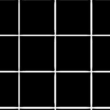 Black Grid Phone Case by aeshaax