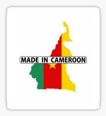 made in cameroon Sticker