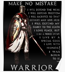 Knights Templar Warrior Posters | Redbubble