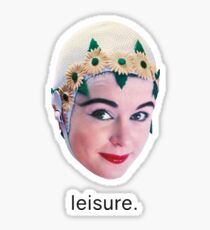 Blur Leisure  Sticker
