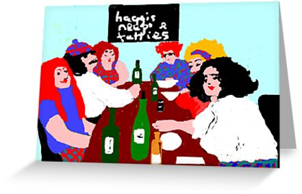 Burns supper night greeting cards by margaretfraser redbubble burns supper night by margaretfraser m4hsunfo