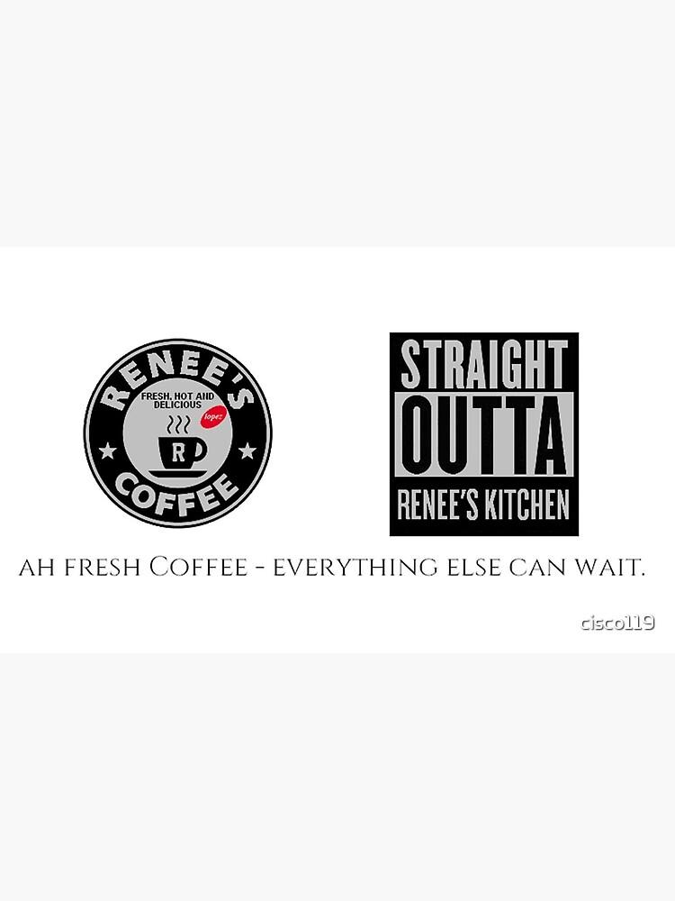 I Love Renees Coffee 1 Fan Club white coffee mug 4401 by cisco119
