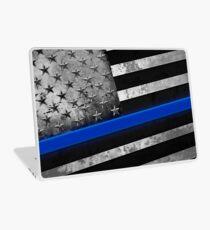 Thin Blue Line bullet proof  Laptop Skin