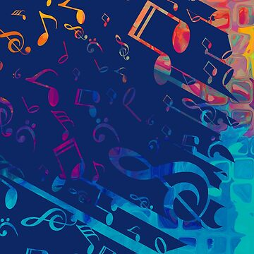 I love musical notes #1 by leandrojsj
