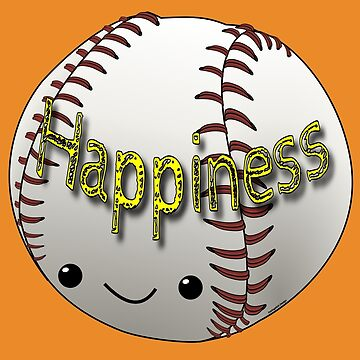 Happiness - Baseball by pokingstick