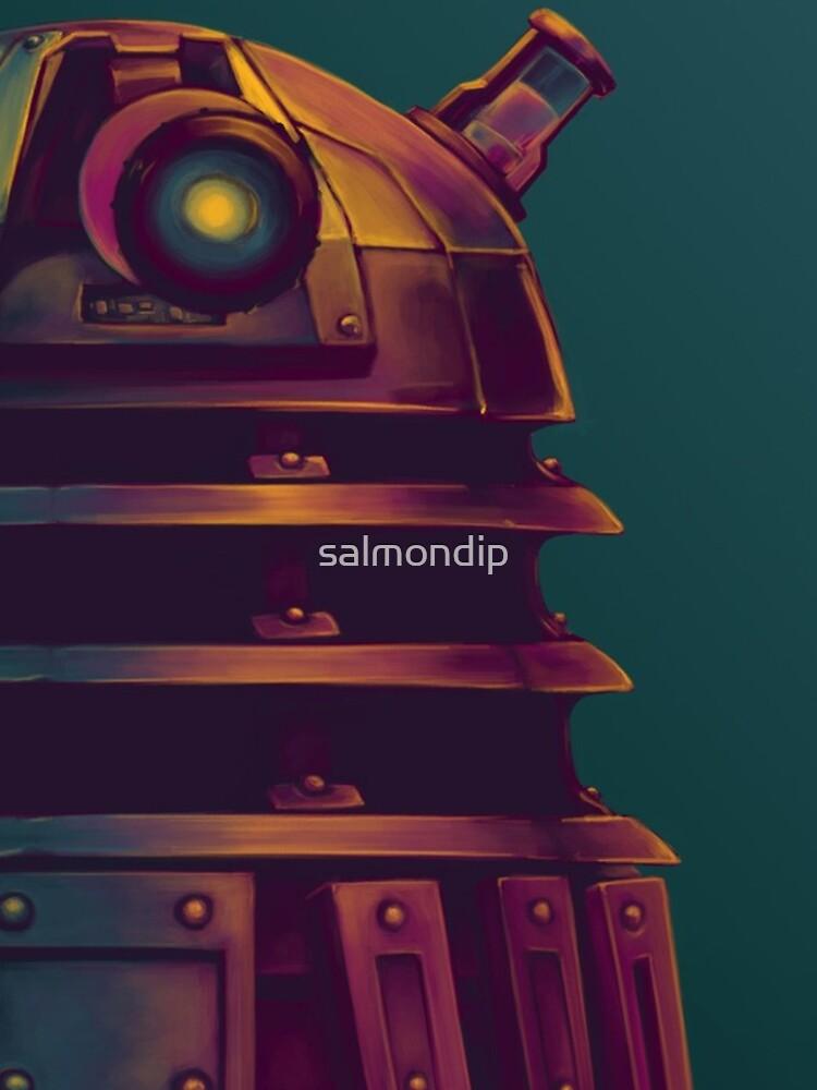 Dalek - Poster (Doktor Who) von salmondip