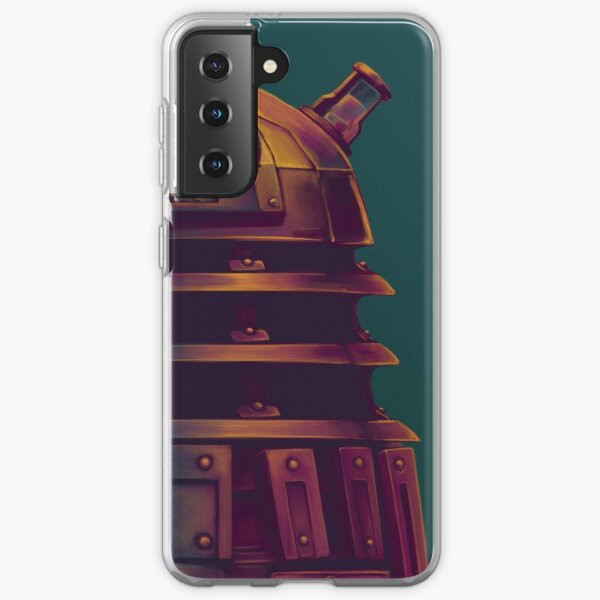 Dalek - Poster (Doctor Who) Samsung Galaxy Soft Case