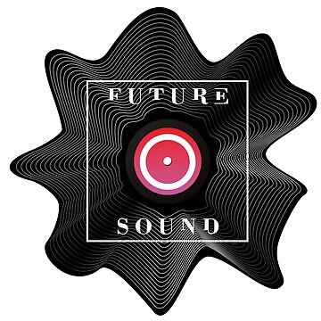 Future Sound. Vinyl deconstruction.  by Kazanskiy
