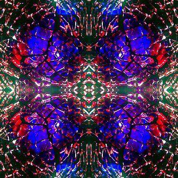 Alien Eyes Pattern by RainBowEscence