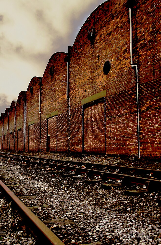 Industrial Rail by Andrew Cryer