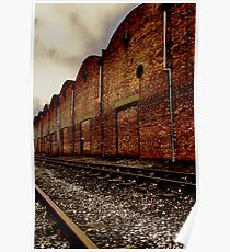 Industrial Rail Poster