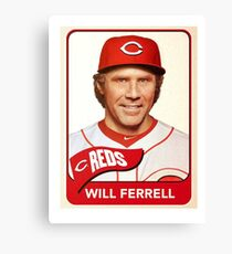 Will Ferrell Canvas Print