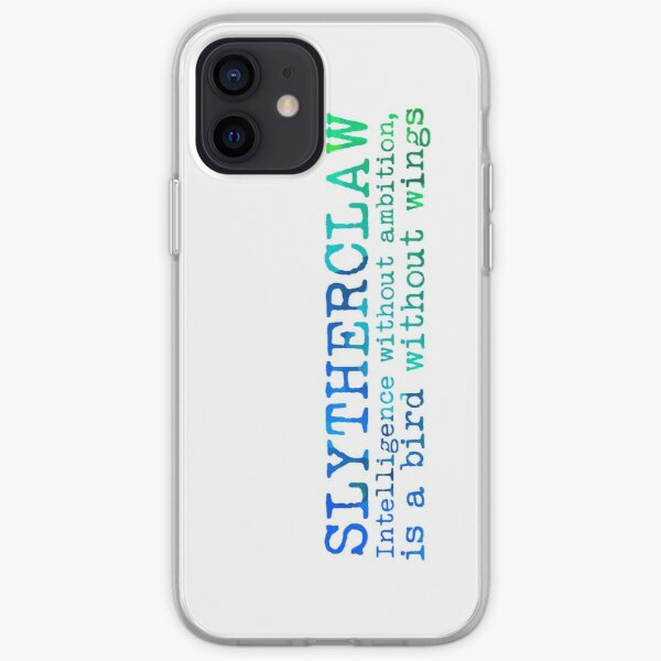 Slytherclaw Quote iPhone Soft Case