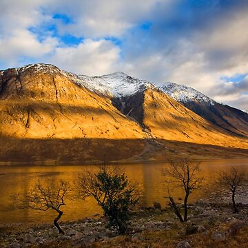 Dusk at Glen Etive, Highland Region, Scotland by Sumosan