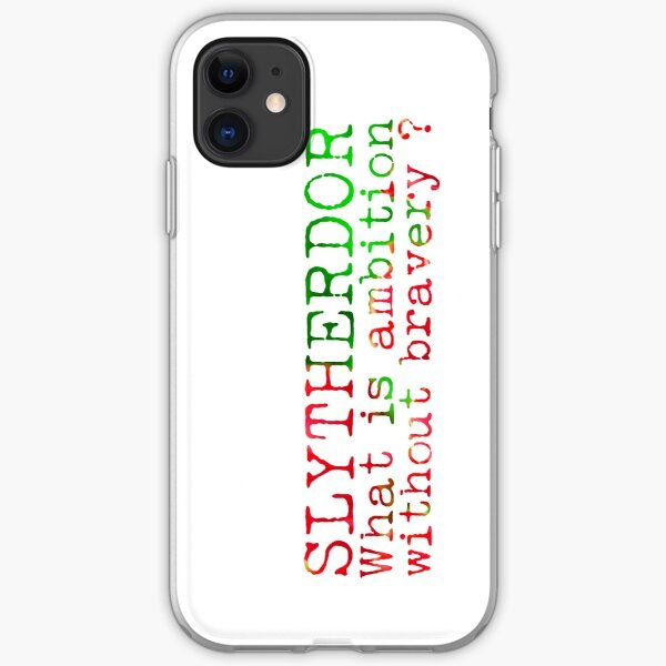 Slytherdor Quote iPhone Soft Case