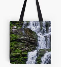 Great waterfall Shypit in Carpathian mountains Tote Bag