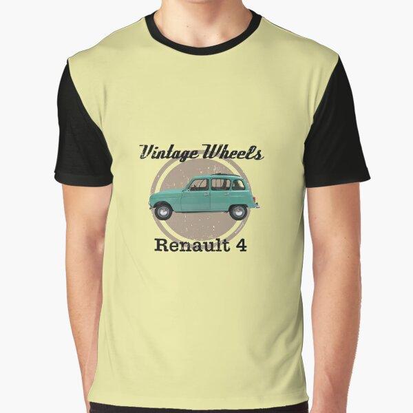 Vintage Wheels - Renault 4 Graphic T-Shirt