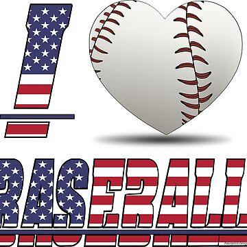 I love baseball by pokingstick
