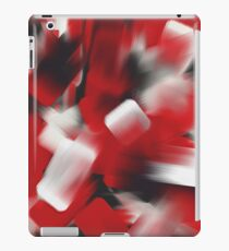 Red Brush Strokes iPad Case/Skin