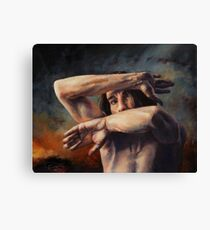 Out of My Face Canvas Print