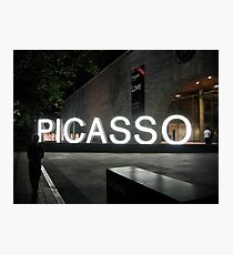 Picasso Photographic Print
