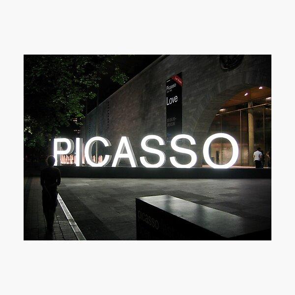 Picasso Photographic Print