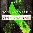 Non Hodgkin's Lymphomaniac by TheLadySketch