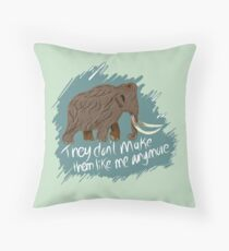 They don't make them like me anymore Throw Pillow