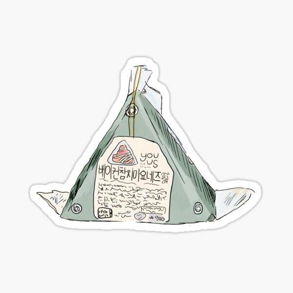 Triangle Kimbap Sticker