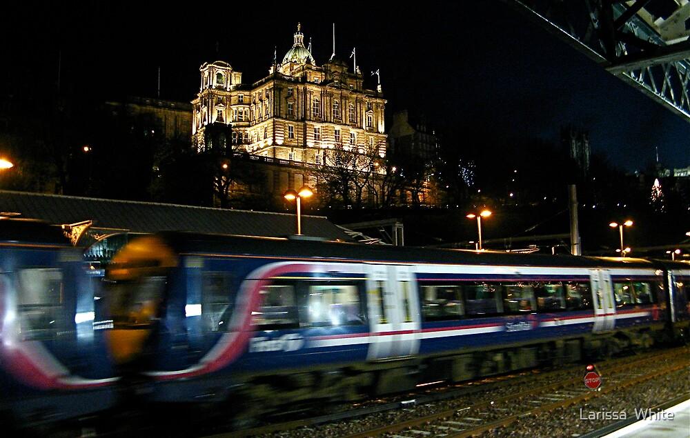 Fast Train by Larissa  Plain