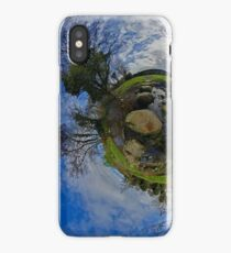 Stepping Stones Across Kilkeel River, Mountains of Mourne iPhone Case/Skin