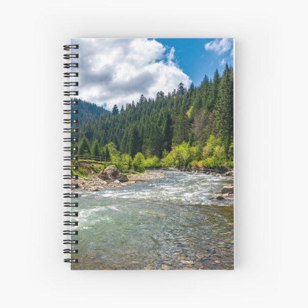 Tereblya river of Carpathan mountains Spiral Notebook