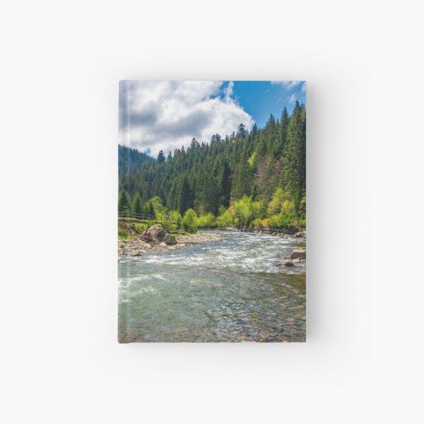 Tereblya river of Carpathan mountains Hardcover Journal