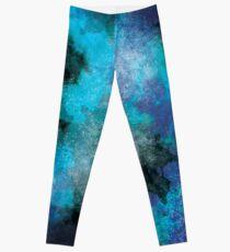 Legging Aqua Blue Galaxy