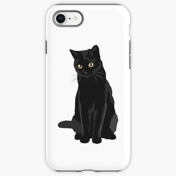 Black Cat iPhone Tough Case