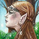 The Elven Beauty by TASIllustration