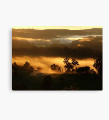 """""""Morning Touched"""" Canvas Print"""