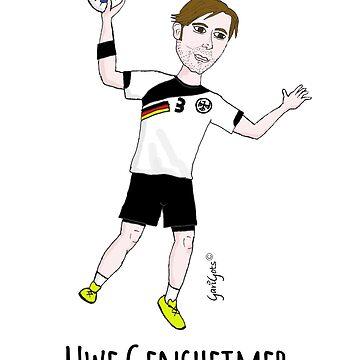 Uwe Gensheimer by garigots
