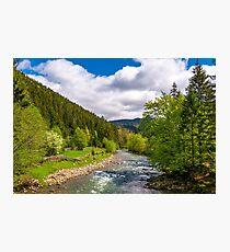 Tereblya river of Carpathian mountains Photographic Print