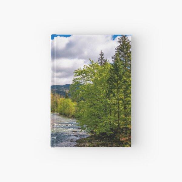 Tereblya river of Carpathian mountains Hardcover Journal