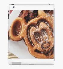 MICKEY shaped waffles  iPad Case/Skin