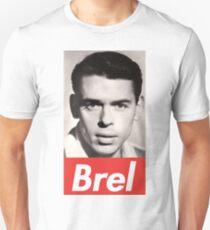 Jacques Brel portrait Unisex T-Shirt