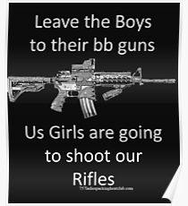 bb guns Poster
