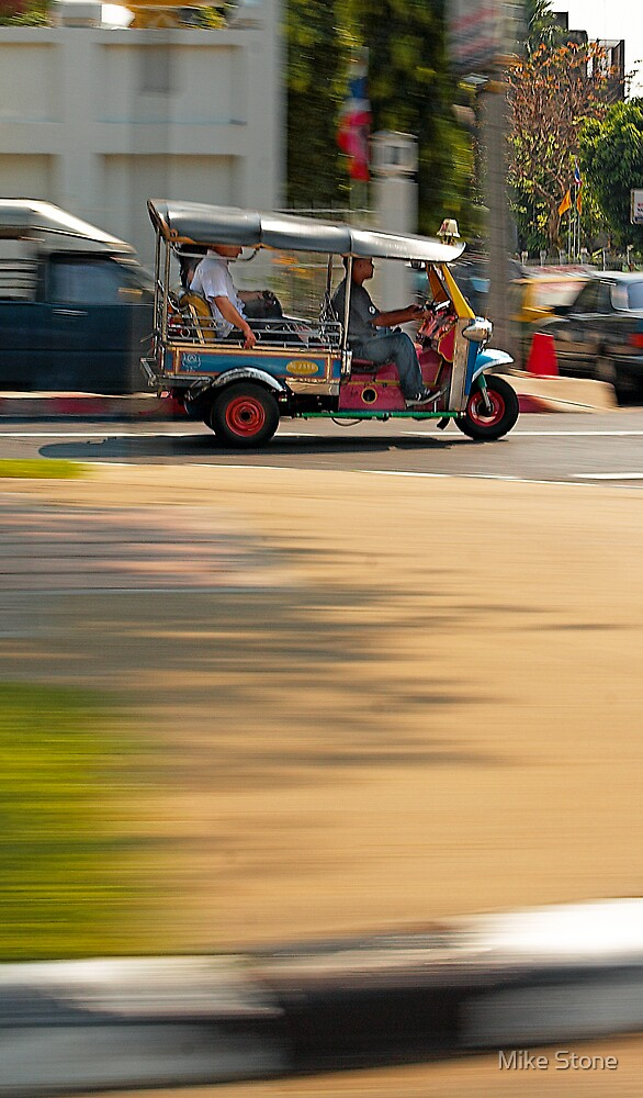 Faster Than a Speeding Tuk Tuk by Mike Stone
