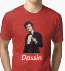 Joe Dassin - Portrait Tri-blend T-Shirt