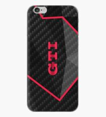 GTI carbon fractals iPhone Case