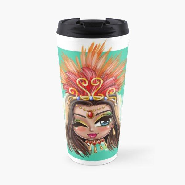 Carnival Shine - Brunette Travel Mug