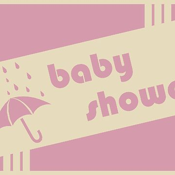 baby shower invitation by memorymoments
