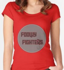 Foo Fighters Parody Women's Fitted Scoop T-Shirt