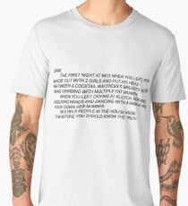 Anonymous Letter to Sammi Men's Premium T-Shirt